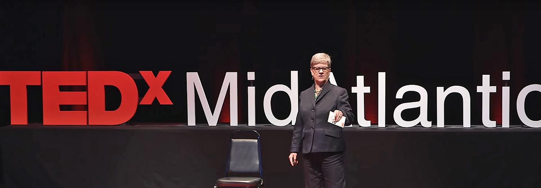 Kathleen Hall Jamieson presents at TEDxMidAtlantic.