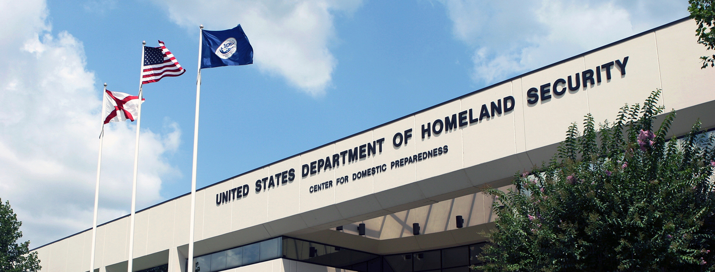 The U.S. Department of Homeland Security's Center for Domestic Preparedness. Credit: FEMA CDP/Kathy Wood.