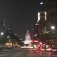 Nighttime view of Austin, TX.