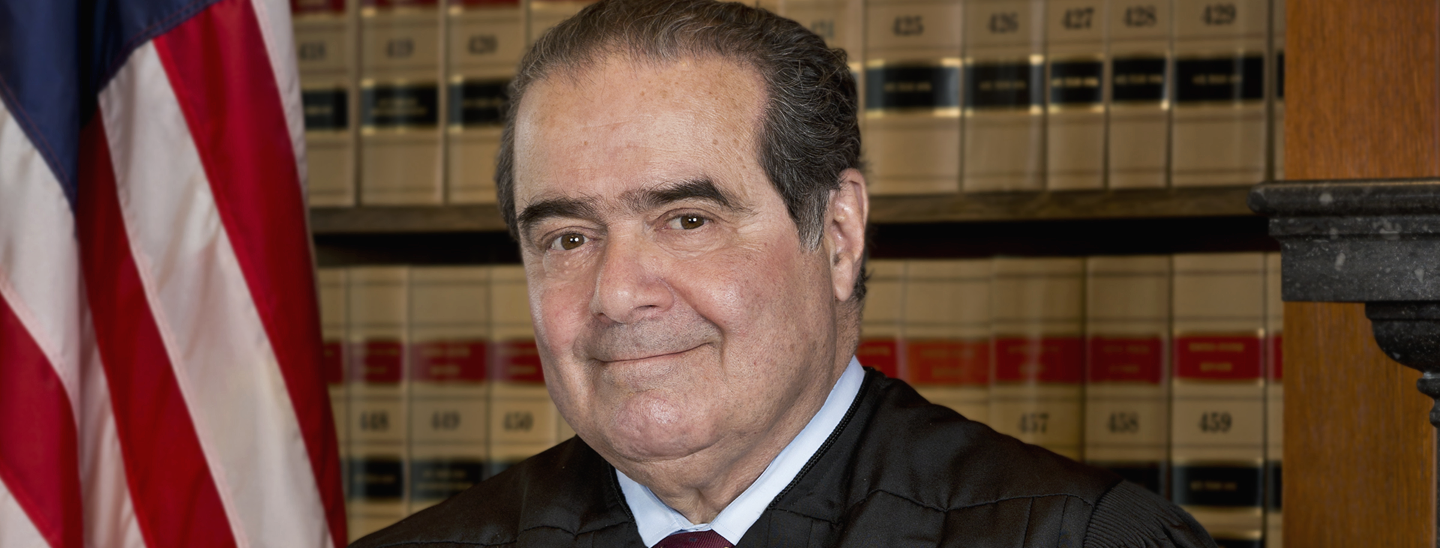 Antonin Scalia, official portrait as Associate Justice of the Supreme Court of the United States.