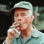 Harry Morgan as Col. Potter on M*A*S*H