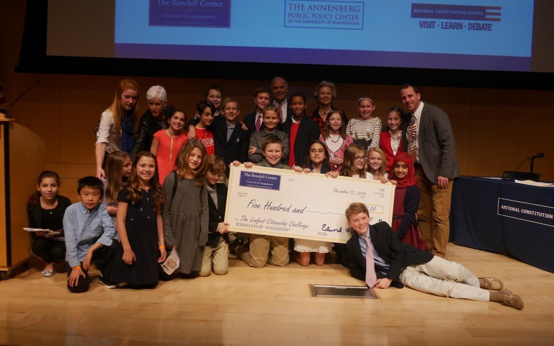 Todd Serpico's team at Radnor Elementary.