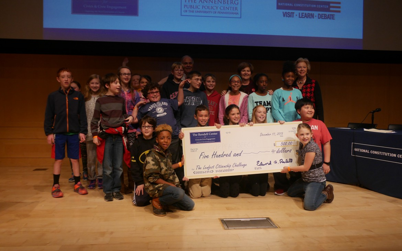 Linda Hagarty's team from Copper Beech Elementary School, Abington.
