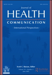 Journal of Health Communication: International Perspectives.