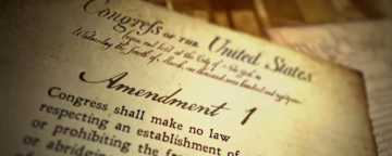 "Screenshot from Annenberg Classroom's ""Freedom of the Press: New York Times v. United States"" video."