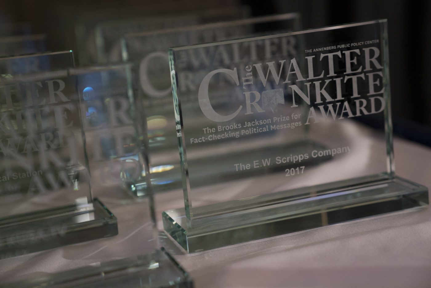 The 2017 Walter Cronkite Awards.