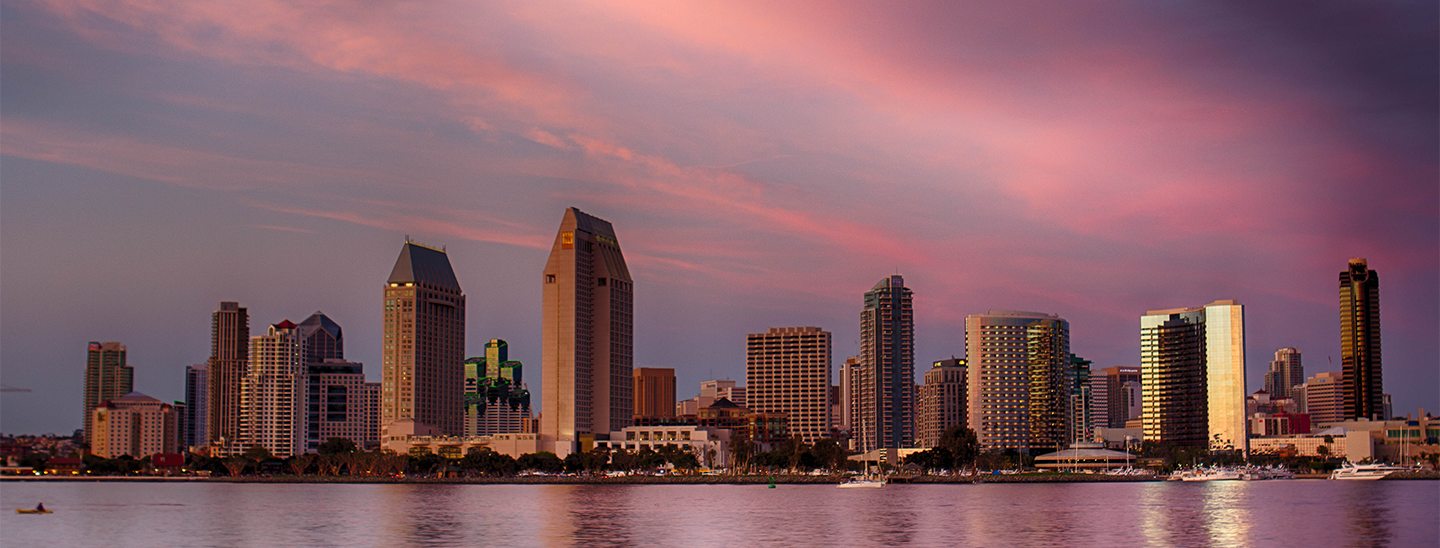 San Diego skyline. Credit: Flickr user Photos By Clark.