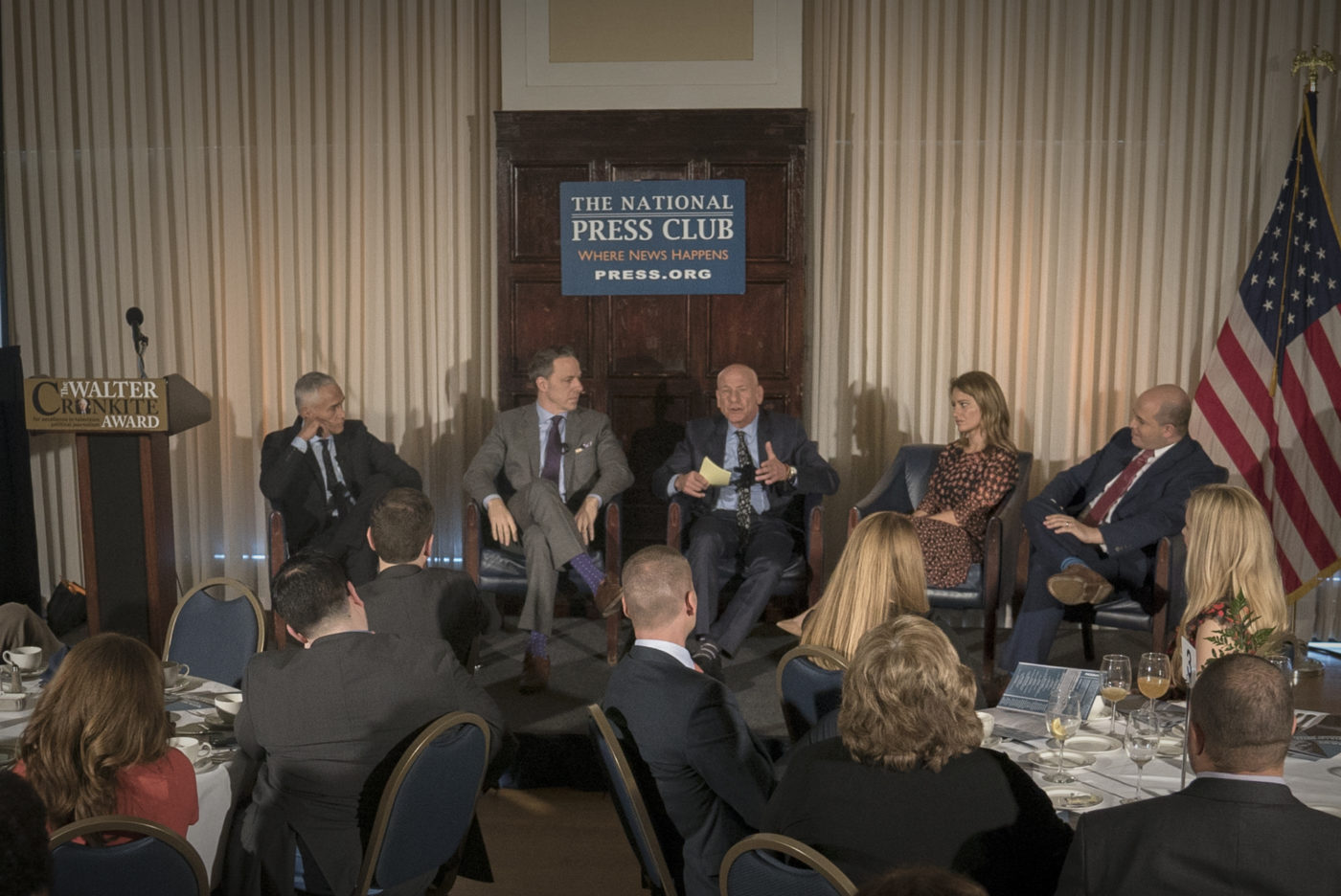 "Panel of Cronkite Award winners discuss journalism and ""fake news."""