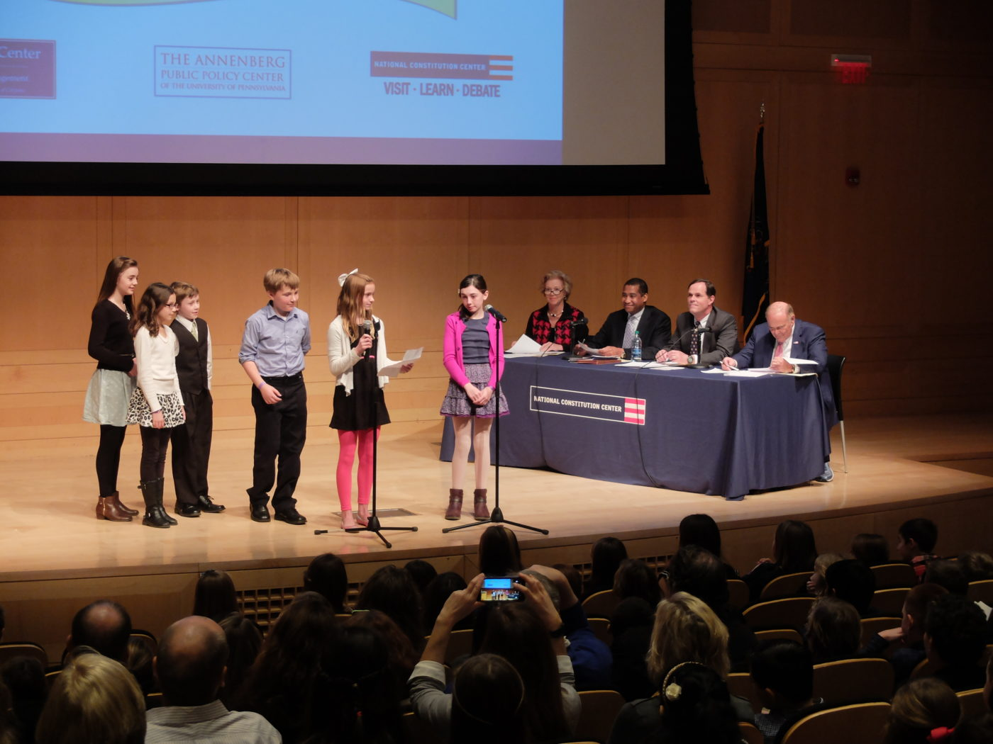 Chestnutwold Elementary's winning presentation.