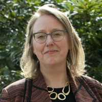 Ellen Peters, visiting scholar at APPC.