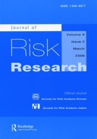 Journal of Risk Research.