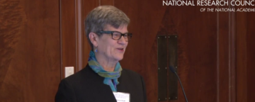 Kathleen Hall Jamieson speaking at the NAS Interface workshop May 6, 2015