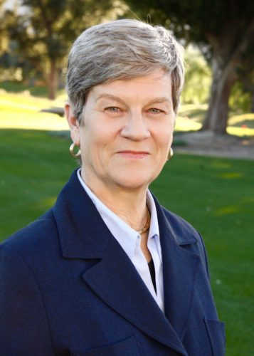 "Kathleen Hall Jamieson, whose book ""Cyberwar"" won the Rod Hart Outstanding Book Award from the NCA."