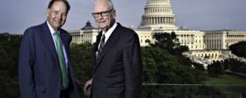 9/11 Commission chairman Tom Kean and vice-chairman Lee Hamilton
