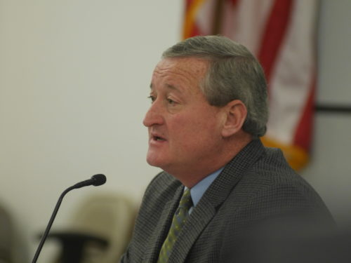 Democratic candidate Jim Kenney.