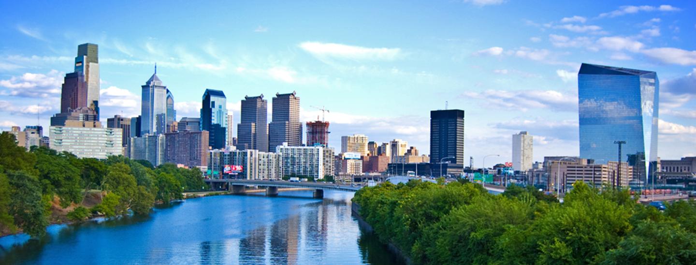 Philadelphia skyline. Credit: Ed Yakovich.