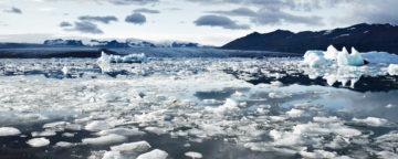 Icelandic glacial scenery. Credit: Jay Mantri.