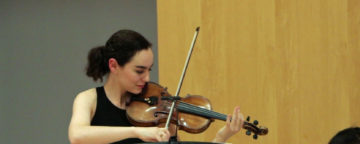 Francesca dePasquale performs at APPC recital.