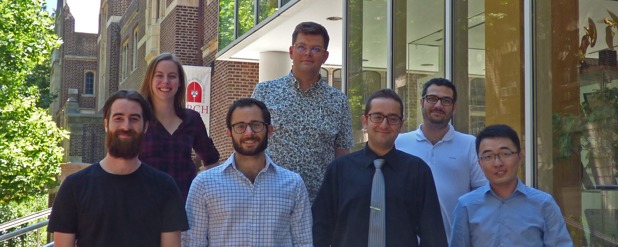APPC's new postdoctoral fellows in the Science of Science Communicatinon are Daniel Chapman, Kathryn Haglin, Matt Motta, Dominik Stecula, Ozan Kuru, Yotam Ophir, and Hang Lu.