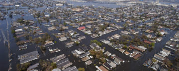 Flooding in New Orleans after Hurricane Katrina. Credit: U.S. Navy/Gary Nichols.