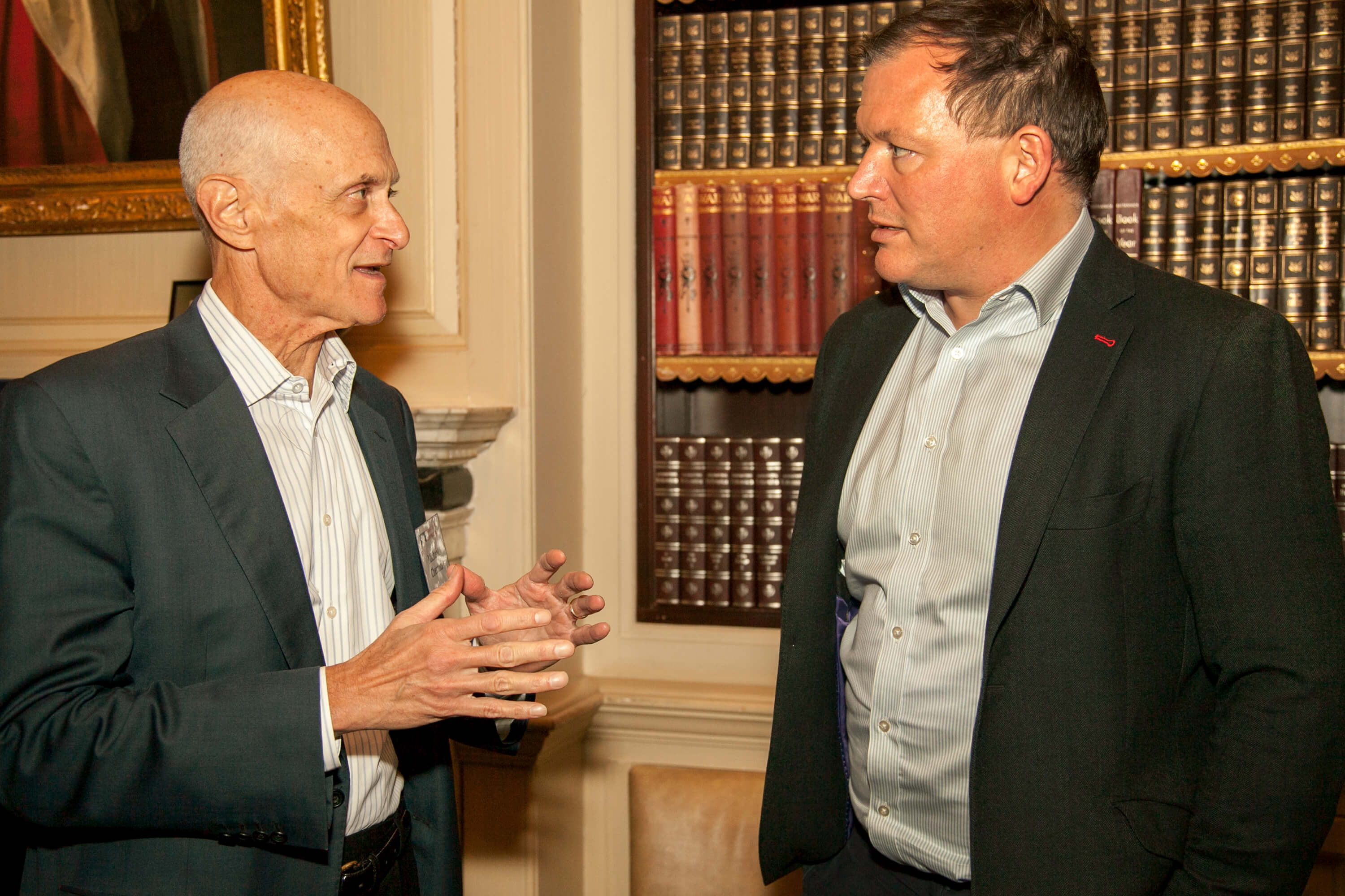 Michael Chertoff and Damian Collins. Credit: Silver Apples Photography. Transatlantic Working Group.