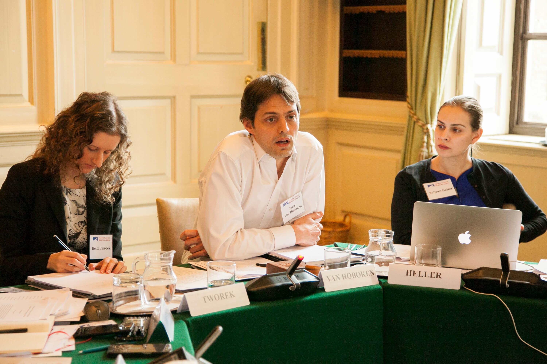 Heidi Tworek, Joris van Hoboken, and Brittan Heller. Credit: Silver Apples Photography. Transatlantic Working Group.