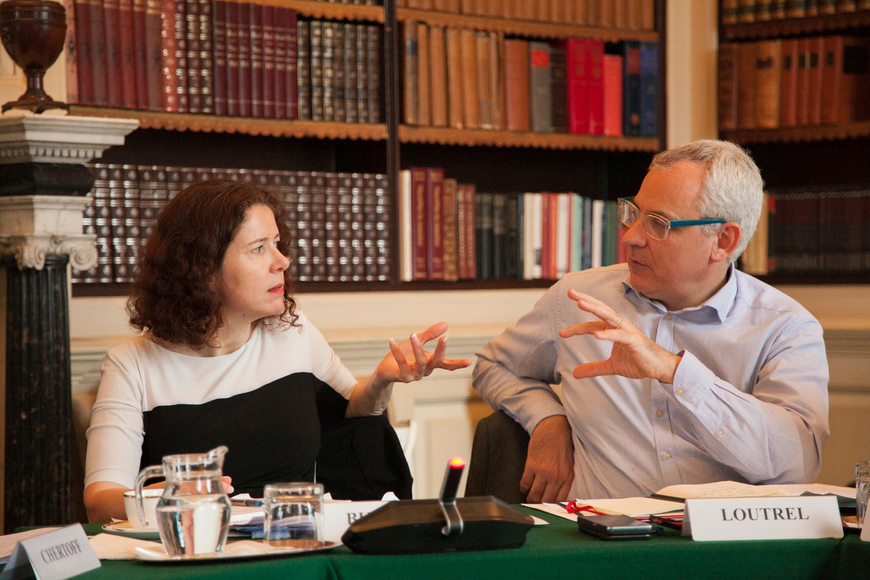 Barbora Bukovská and Benoît Loutrel. Transatlantic Working Group. Credit: Silver Apples Photography.