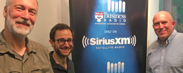 Eric Orts, Matt Motta, and Dan Loney discuss climate change beliefs on Knowledge@Wharton/SiriusXM, June 17, 2019.