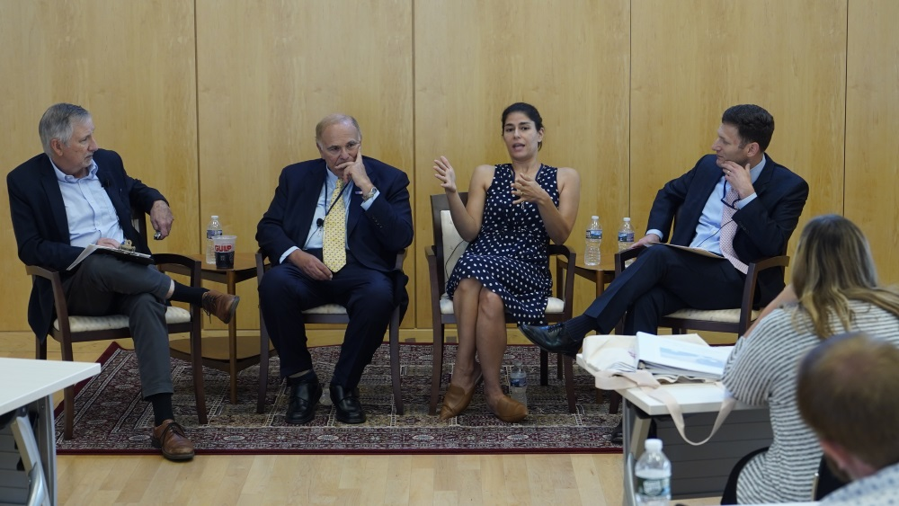 Rendell Center summer institute for teachers panel on First Amendment issues.