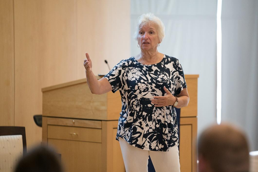 Sally Flaherty, a retired Pennsylvania social studies content advisor.