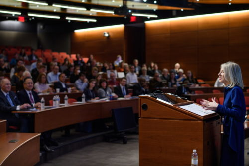 Penn President Amy Gutmann.