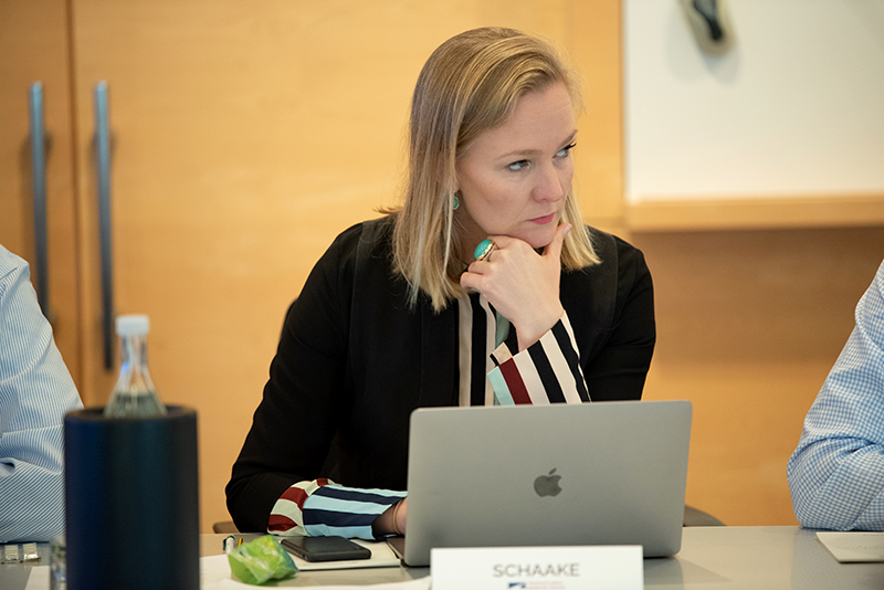 Marietje Schaake, former Member of the European Parliament from the Netherlands, has been named co-chair of the Transatlantic Working Group on Content Moderation Online and Freedom of Expression.