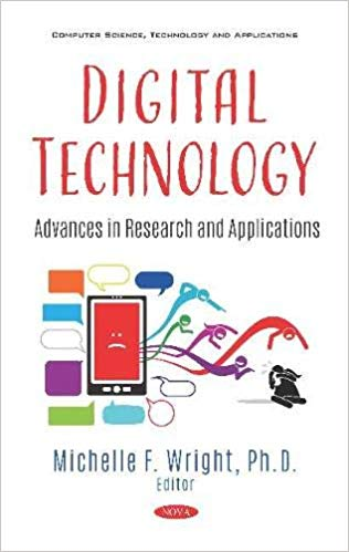 Cover of Digital Technology. Dan Romer writes about social media and suicide in this book.