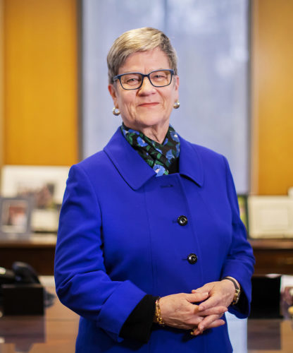 Kathleen Hall Jamieson, receipient of the National Academy of Sciences' 2020 Public Welfare Medal.