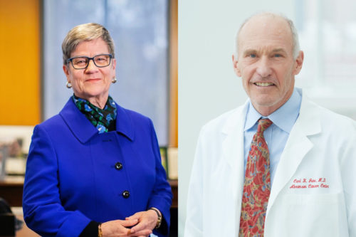 Kathleen Hall Jamieson and Carl June, Penn faculty members elected to the National Academy of Sciences on April 27, 2020