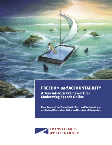 Report calling for transparency and accountability by online platforms