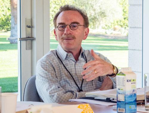 Randy Schekman at a NAS-Sunnylands-APPC retreat