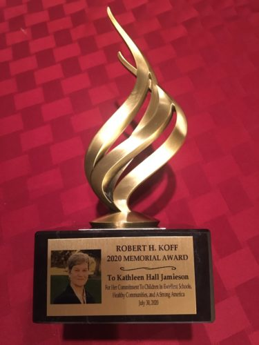 Robert H. Koff 2020 Memorial Award