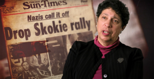 """ACLU President Susan Herman in the film """"Freedom of Assembly"""""""