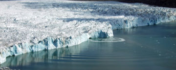 Iceberg Hansbreen glacier Arctic