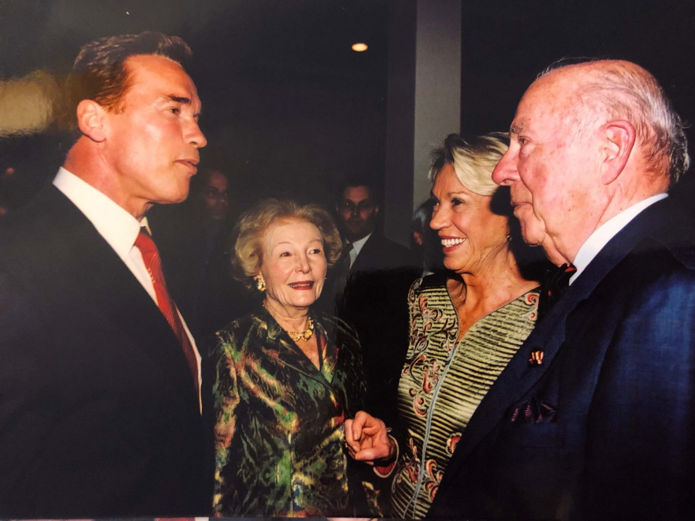 George Shultz, Leonore Annenberg and others.