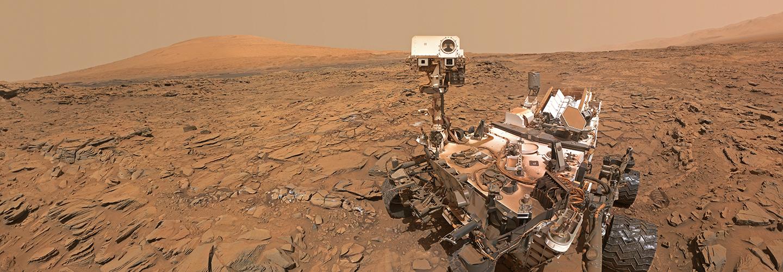 Self-portrait of NASA's Curiosity Mars rover. Credit: NASA/JPL-Caltech/MSSS.