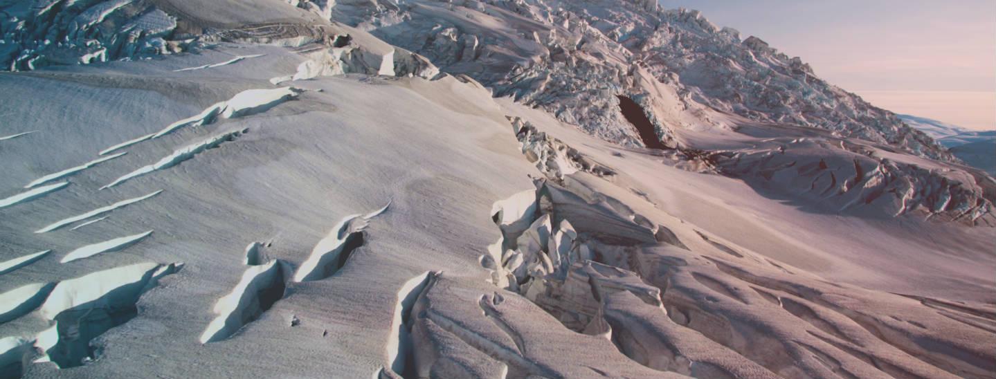 Retreating glacier. Credit: U.S. Geological Survey.