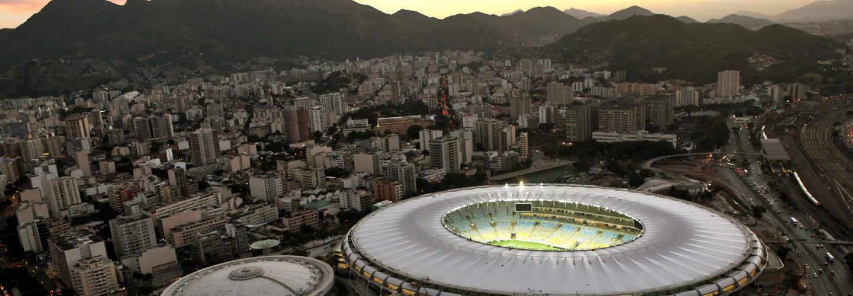 Maracana stadium, site of the 2016 Olympics opening and closing ceremonies. Credit: Governo do Rio de Janeiro/Érica Ramalho.