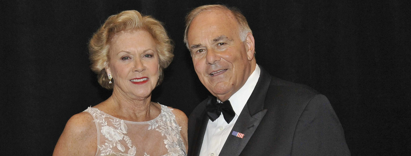 Judge Marjorie and former Gov. Ed Rendell at the Pennsylvania Society Holiday Dinner on Dec. 12, 2015.