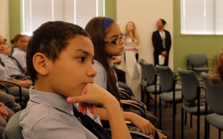 Students from Julia de Burgos School.