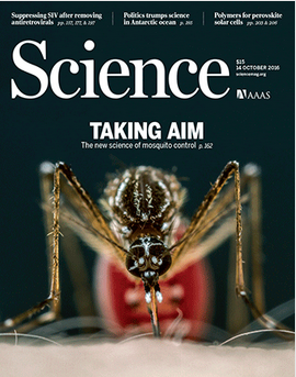 Science Mag cover 10-14-16