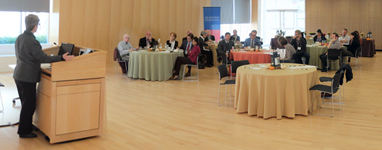 American Academy of Arts & Sciences round table at APPC on Oct. 5, 2015.